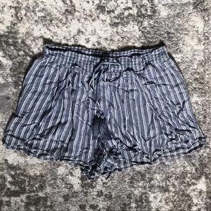AEO Striped Tassel Shorts